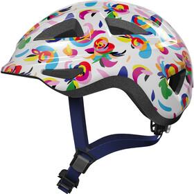 ABUS Anuky 2.0 Helmet Kids, biały/kolorowy